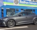 Audi A3 mit RC Design RC26 titan metallic in 17 Zoll
