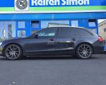 Audi A4 mit Brock B37 dark sparkle lackiert in 19