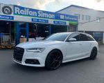 Audi A6 Avant mit MSW 50 gloss black in 20 Zoll