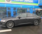 Audi A6 mit AEZ Steam graphite matt in 20 Zoll