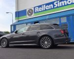 Audi A6 mit Borbet BLX black poished matt in 18 Zoll