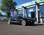 Audi TT mit Borbet B gold rim polished in 19 Zoll