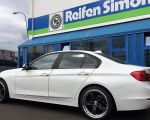 BMW 3er mit Dotz SP5 dark Gunmetal polished 19 Zoll