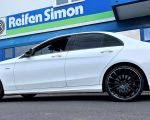 Mercedes C-Klasse C43 AMG mit MSW30 gloss black in 20Zoll