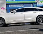 Mercedes CLS mit OZ Superturismo graphit matt 19 Zoll