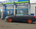 Opel Astra H Twin Top mit Autec Wizard Racing Orange 7,5x17 Zoll