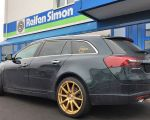 Opel Insignia Sports Tourer mit Borbet GTX gold matt in 20 Zoll