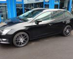 Seat Leon ST mit AEZ Cliff black polished 8 x 18 Zoll
