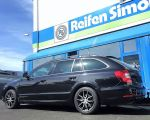 Skoda Superb mit Dotz Misano dark gunmetal polished in 17 Zoll