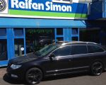 Skoda Superb mit RC29 dark sparkle 8 x 18 Zoll