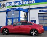 Mazda 6 mit Dotz CP5 black polished in 19Zoll