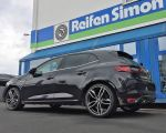Renault Megane mit MSW 71 dark grey full polished in 19