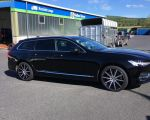 Volvo V90 mit AEZ Straight black polished in 19 Zoll