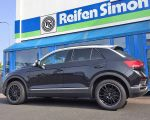 VW T Roc mit CMS C23 Diamond Rim Black in 17 Zoll