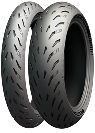 Michelin Power 5 VA 120/70 ZR 17 / HA 180/55 ZR 17